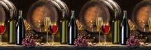 Фартук кухонный ABS вино