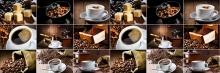 Фартук кухонный ABS кофе