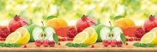 Фартук кухонный ABS фрукты